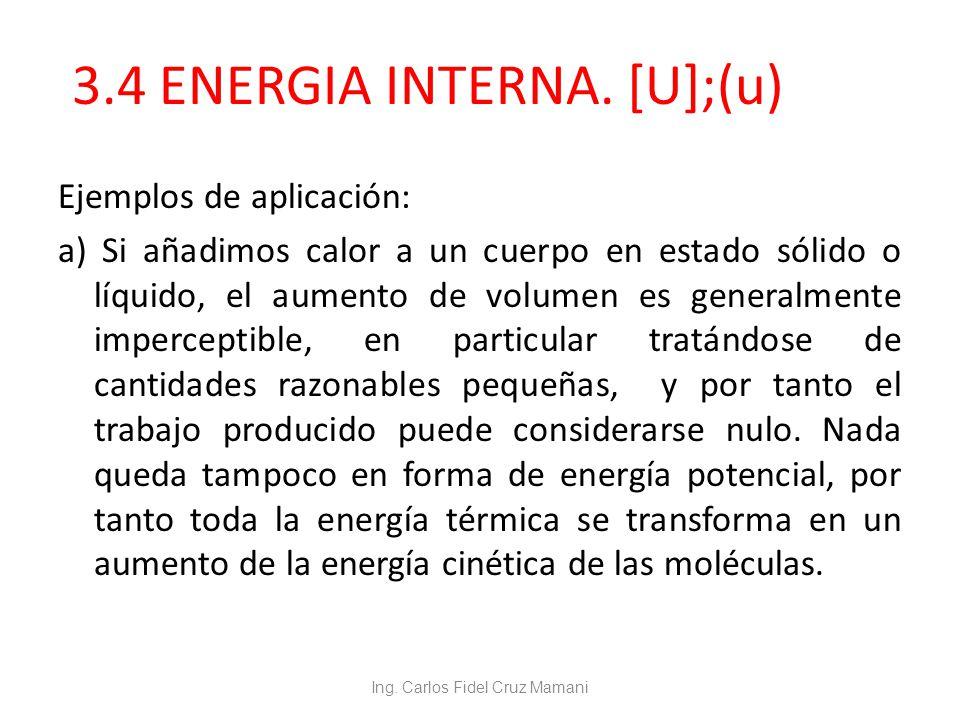 Capitulo 3 relaciones de energ a trabajo y calor ppt for Trabajo de interna en barcelona